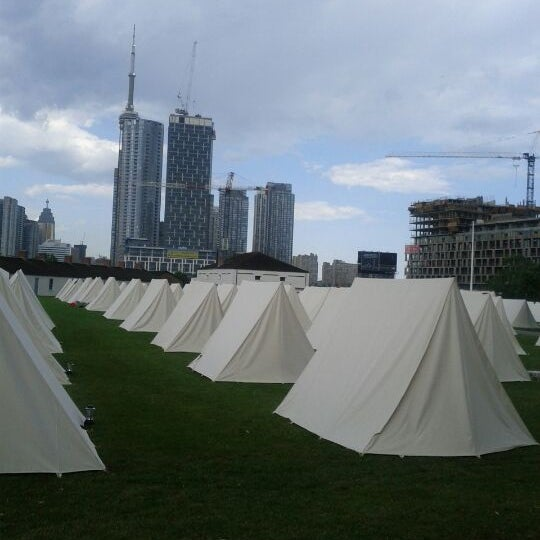 Photo taken at Fort York by Chandra B. on 6/7/2012