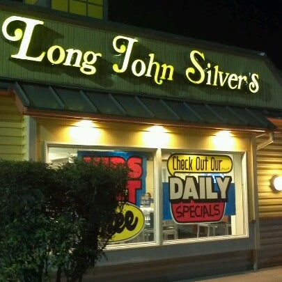 Long John Silver's LLC (also formerly known as Long John Silver's Seafood Shoppe and sometimes abbreviated as LJS) is an American fast-food restaurant chain that specializes in seafood. The brand's name is derived from the novel Treasure Island by Robert Louis Stevenson.