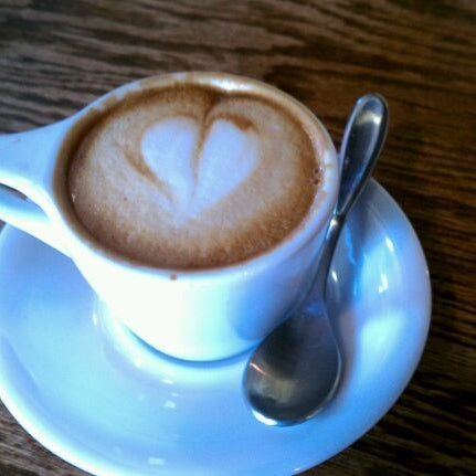 Photo taken at Avoca Coffee by Emilie P. on 5/18/2012