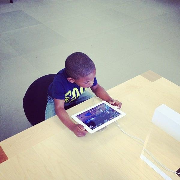 Photo taken at Apple Friendly Center by Jonah H. on 6/27/2012