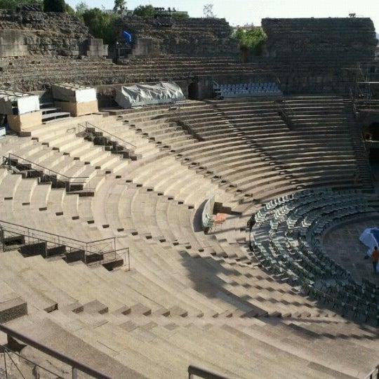 Photo taken at Anfiteatro Romano by Celia M. on 7/31/2012