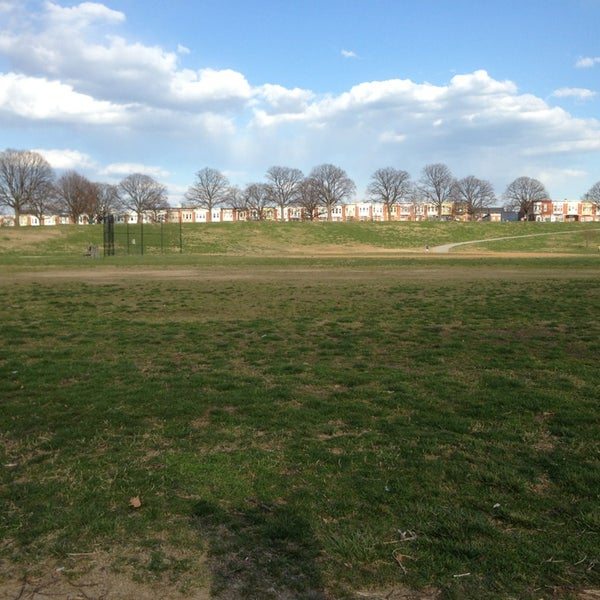 Photo taken at Patterson Park by Elliott P. on 4/3/2013