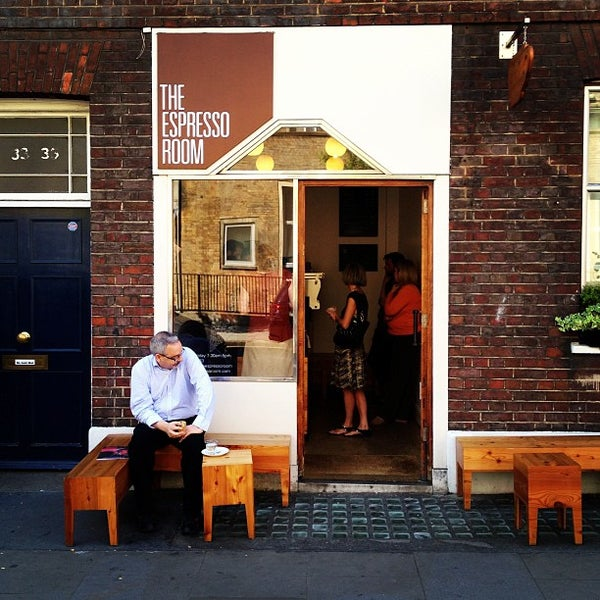The Espresso Room In Covent Garden