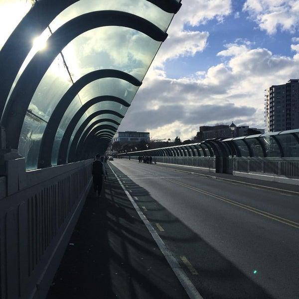 Photo taken at Grafton Bridge by Ashleigh P. on 8/28/2016