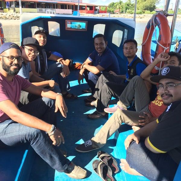 Photo taken at Tanjung Dawai by Dwaynevan P. on 7/17/2016