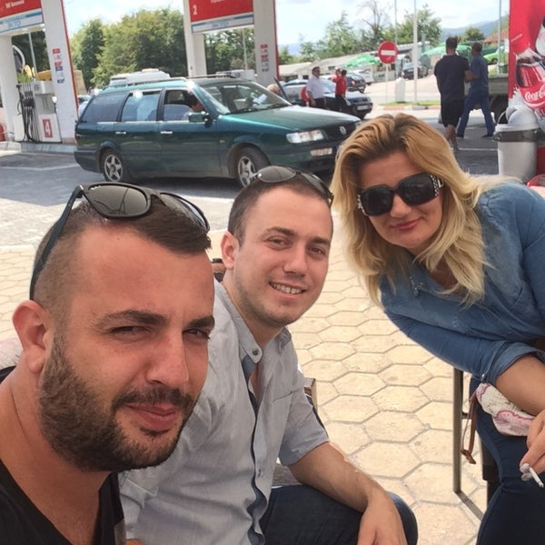 Photo taken at LukOil Straza by GffR on 9/13/2014