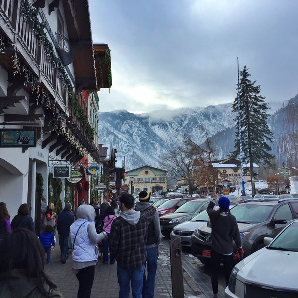 Photo taken at Town of Leavenworth by Michael E. on 1/24/2015