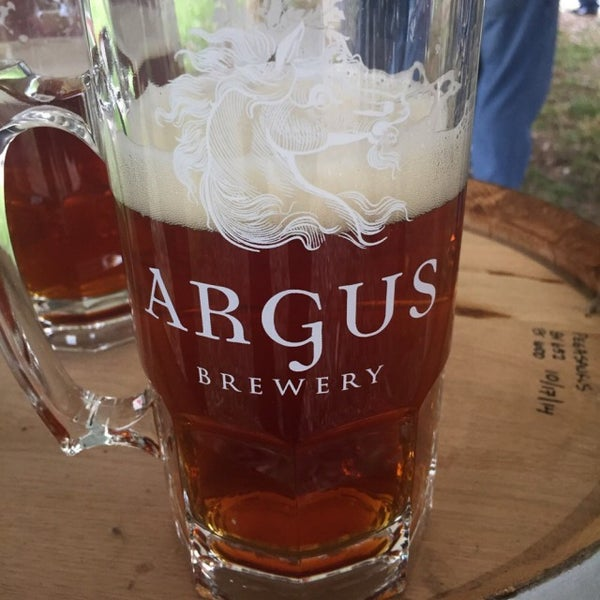 Photo taken at Argus Brewery by Bradley D. on 10/3/2015