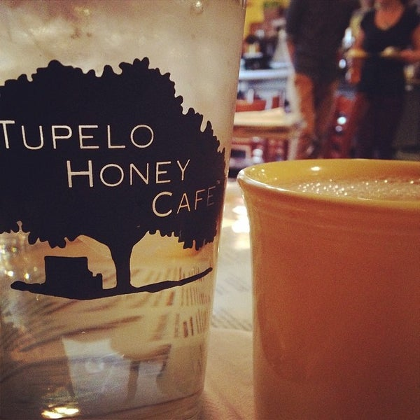 Photo taken at Tupelo Honey Cafe by chana l. on 3/6/2014