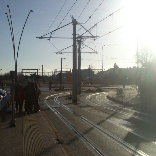 Photo taken at Station Blankenberge by Thomas D. on 12/15/2013