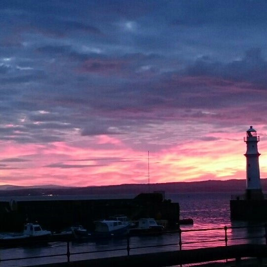 Photo taken at Newhaven Harbour by Azalea T. on 6/26/2015
