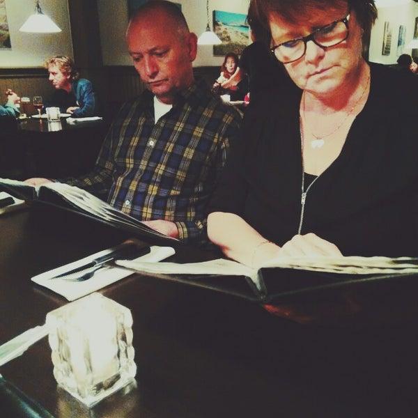 Photo taken at Karalis Pizzeria by Shirley B. on 10/23/2014