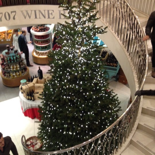 Photo taken at Fortnum & Mason by Michael G. on 12/8/2012