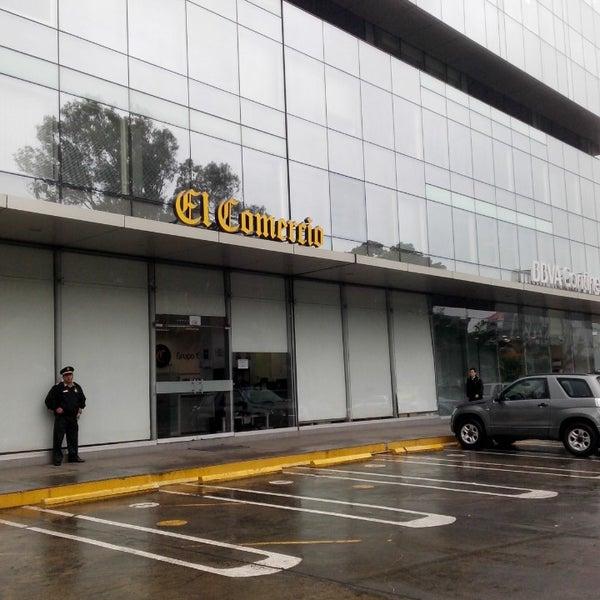 Photo taken at El Comercio by Raju N. on 7/23/2014