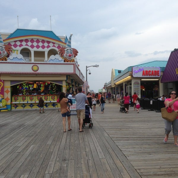 Photo taken at Point Pleasant Beach Boardwalk by Mona C. on 6/28/2013