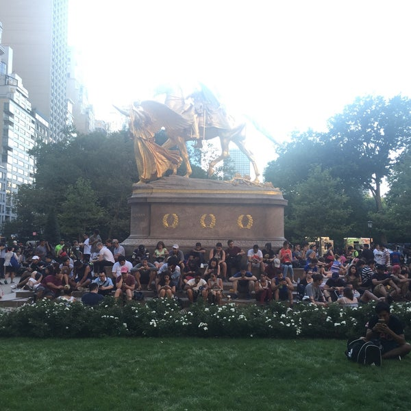 Photo taken at Grand Army Plaza by michael l. on 8/7/2016