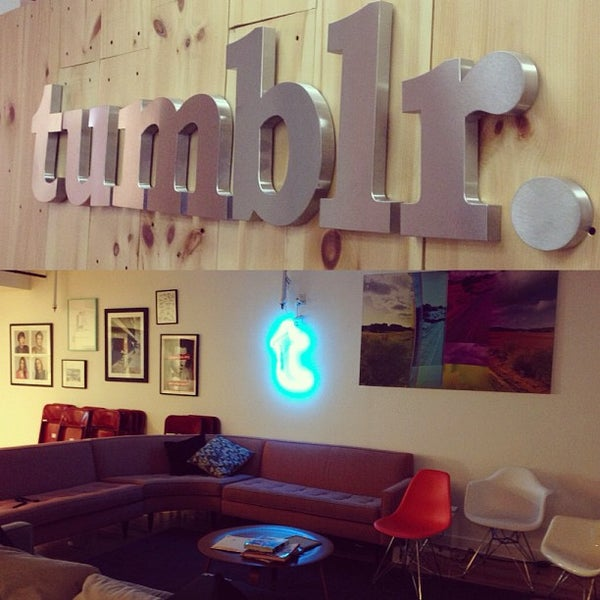 Photo taken at Tumblr HQ by Freddy R. on 2/14/2013