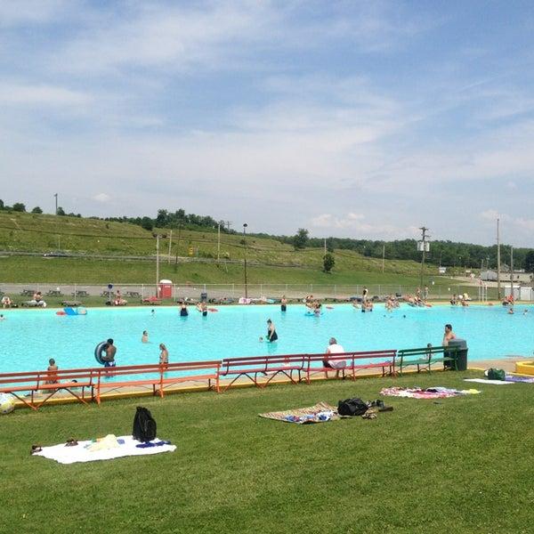 mineral beach pool