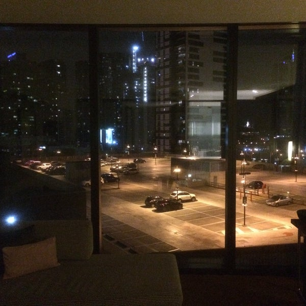 """Get a high room. Level 9 """"city view"""" is actually """"car-park views"""". Great large rooms, though, & quite modern."""