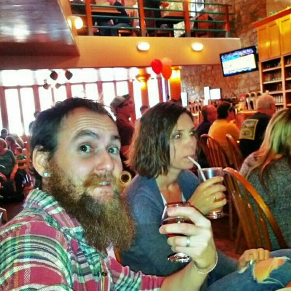 Photo taken at Free State Brewing Company by ven s. on 3/15/2014