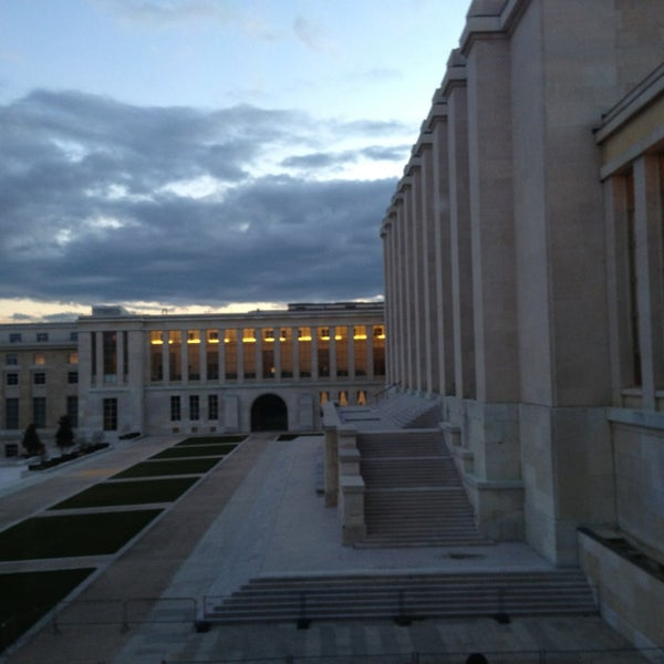 Photo taken at Palais des Nations by Jim P. on 2/20/2014