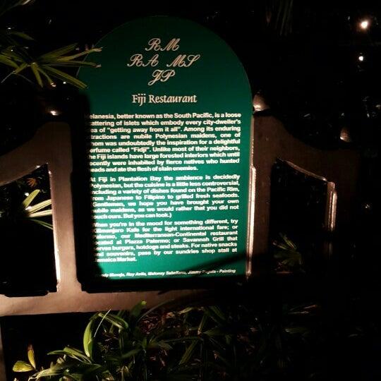 Photo taken at Fiji Restaurant by Chokie E. on 10/28/2015