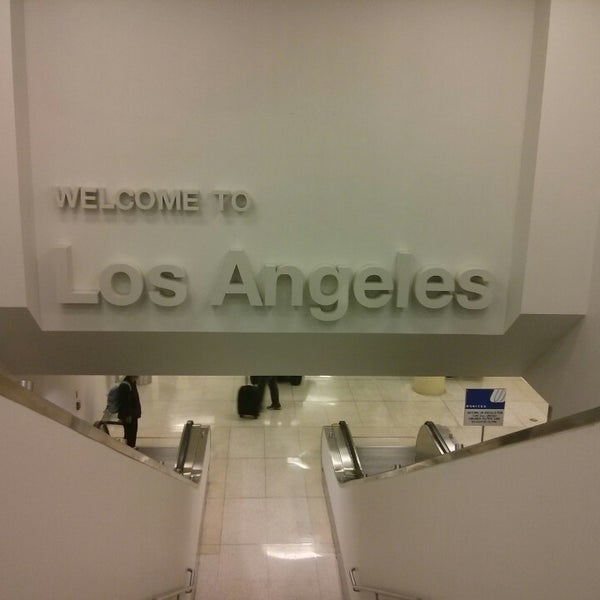 Photo taken at Los Angeles International Airport (LAX) by Davidson F. on 10/19/2013
