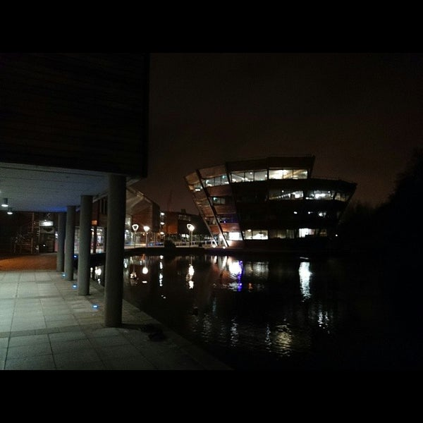 Photo taken at Djanogly Learning Resource Centre by Mark 👻 W. on 3/11/2014