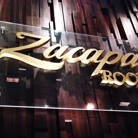 Zacapa room cocktail bar in m xico for Food bar zacapa