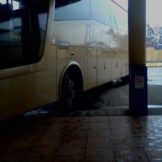 Photo taken at Terminal Buses Bio Bio Victoria by Javier D. on 10/6/2012