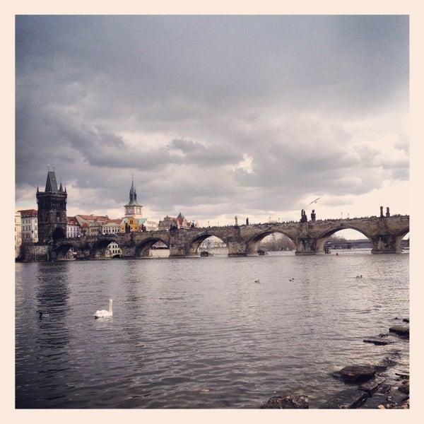 Photo taken at Karlův most | Charles Bridge by Seven on 4/13/2013