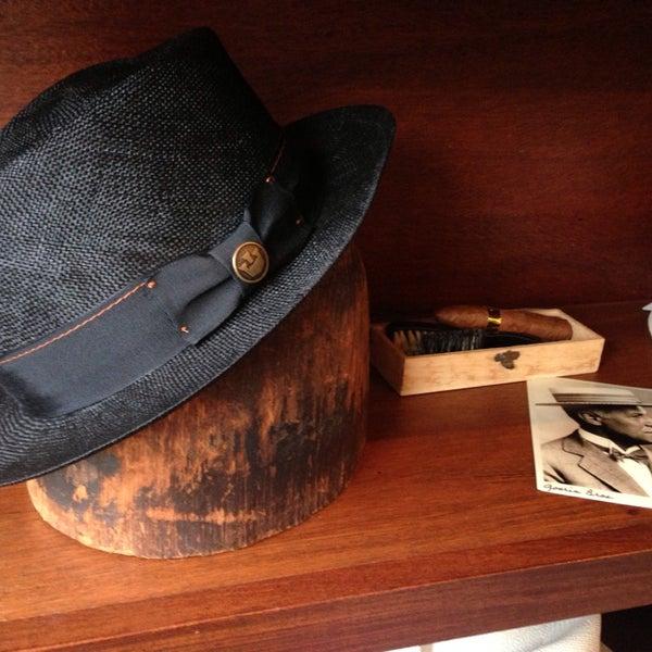 Photo taken at Goorin Bros. Hat Shop by Elizabeth I. on 6/10/2013