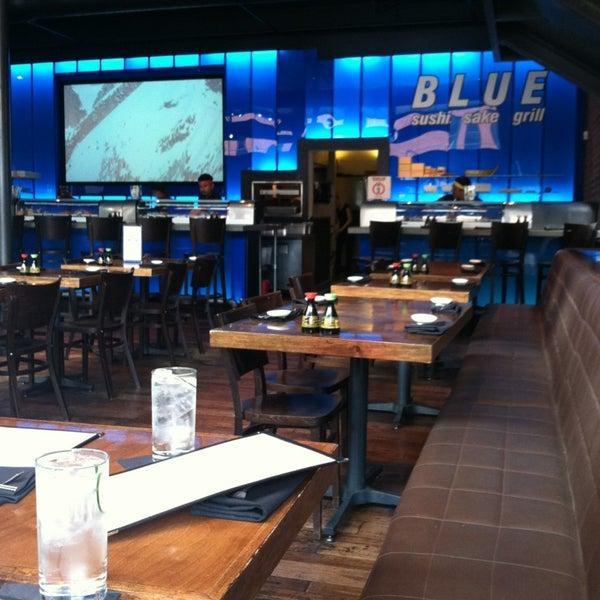 Photo taken at Blue Sushi Sake Grill by Nikki B. on 4/13/2013