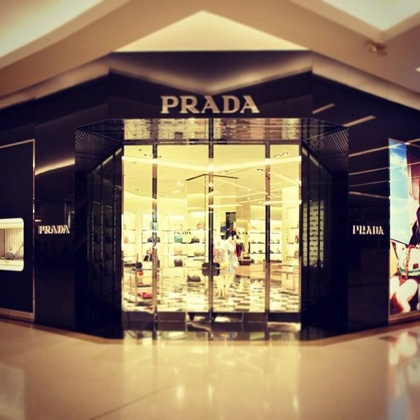 Photo taken at Prada by Siriroj P. on 12/30/2012