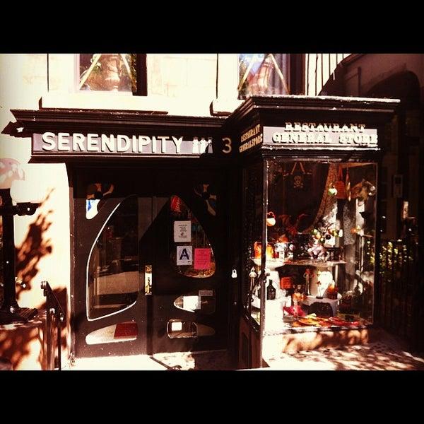 Photo taken at Serendipity 3 by Steve on 10/11/2012