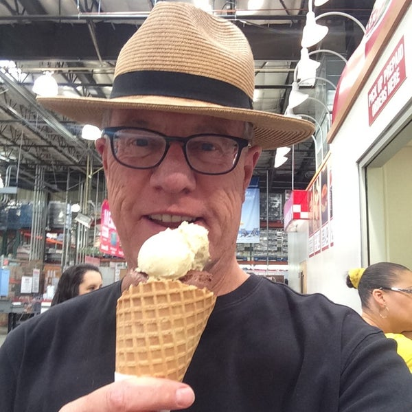 Photo taken at Gelateria @ Costco by Gary M. on 5/20/2014
