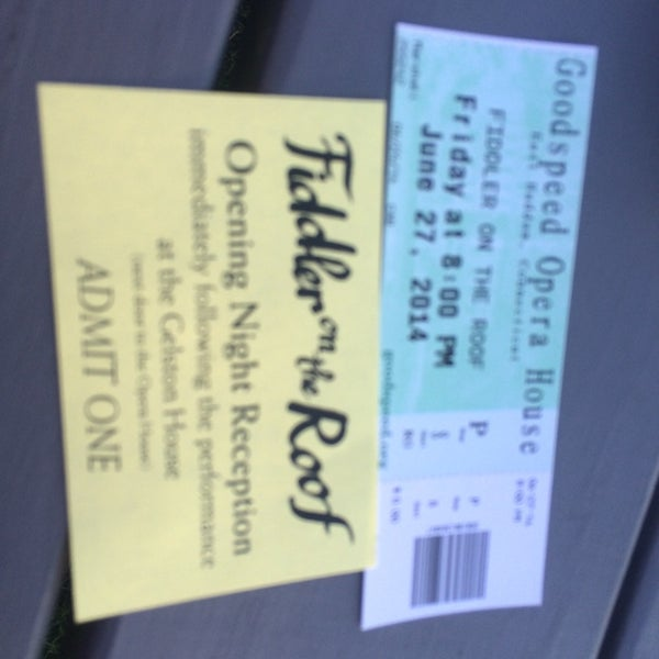 Photo taken at Goodspeed Opera House by Carol M. on 6/27/2014