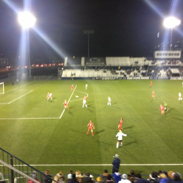Photo taken at Jeffrey Field by Ron S. on 11/21/2015