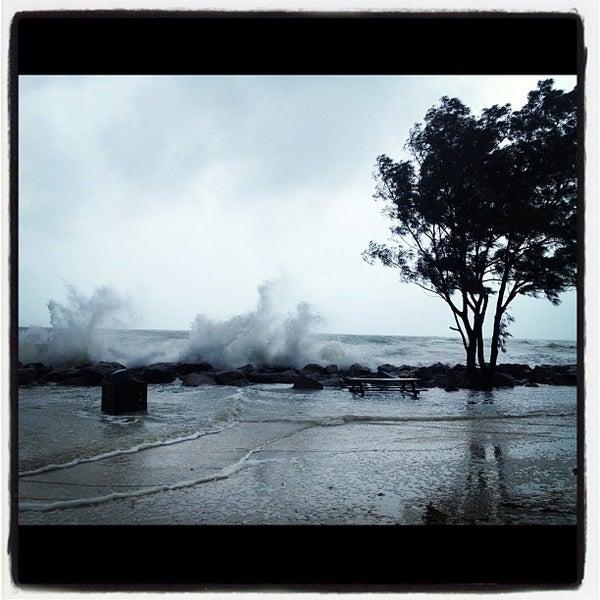 Photo taken at South Jetty / Humphris Park by Garrett K. on 6/24/2012