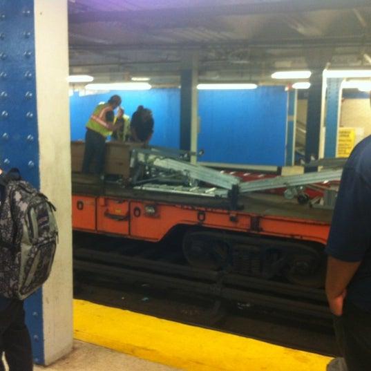 Photo taken at SEPTA: 15th Street Station (MFL/TRL) by Anny W. on 7/14/2012
