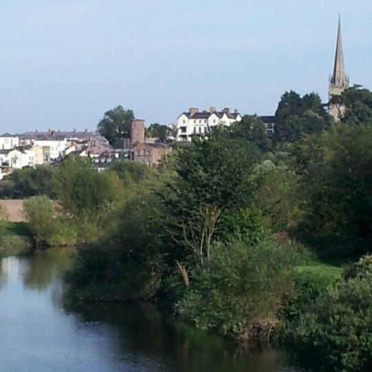 Photo taken at Ross-on-Wye by Carol L. on 9/6/2012