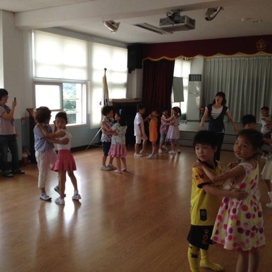 Photo taken at 성황초등학교 by Jihyun P. on 7/4/2012