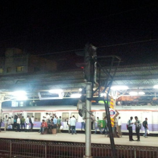 Photo taken at Dadar Railway Station by Chintan D. on 8/14/2012