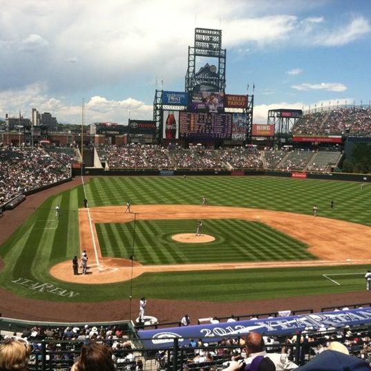 Photo taken at Coors Field by Jen J. on 7/18/2012