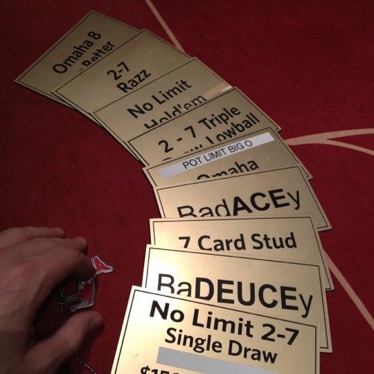 Fallsview casino poker room limits