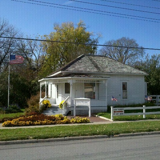 Photo taken at John Wayne Birthplace Museum by Tyler D. on 10/23/2011