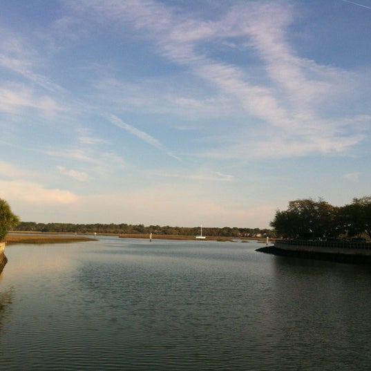 Photo taken at Shelter Cove Marina by Janelle O. on 3/18/2012