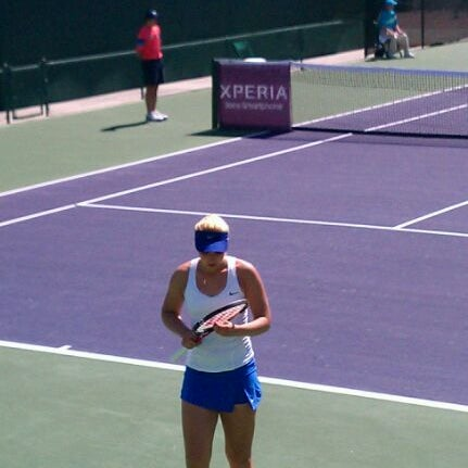 Photo taken at Indian Wells Tennis Garden by Arvin P. on 3/10/2012