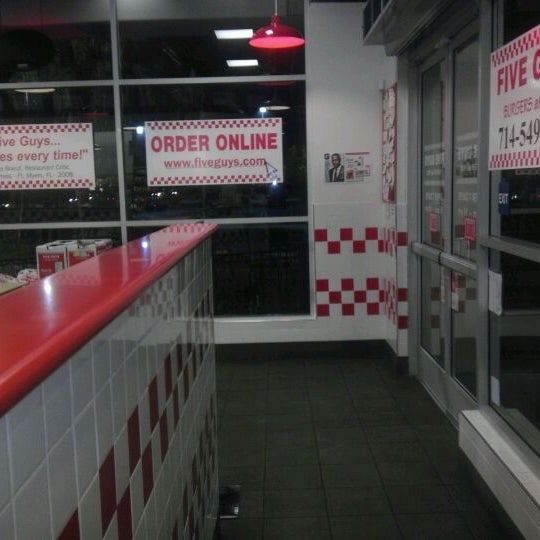 Photo taken at Five Guys by Phillip W. on 11/27/2011