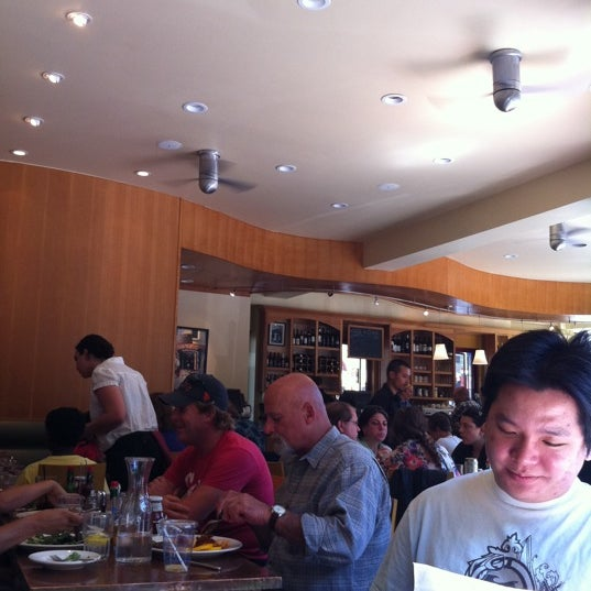 Photo taken at Caffe DeLucchi by Louanne F. on 7/3/2011